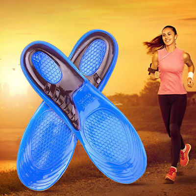 Silicone Gel Insoles Orthopedic Arch Support. Sport,Foot Care. MEDIUM. FAST SHIP