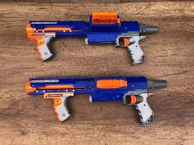 Nerf Elite Blue Raider Cs-35 With Mag - Tested And Good Condition ( 1)