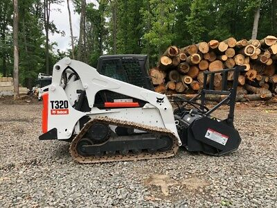 2010 Bobcat T320 RC60 Forestry Mulcher (#2146)