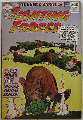 Our Fighting Forces #59 (Jan-Feb 1961, DC), VFN condition