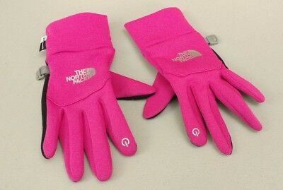 North Face Gloves Size XS UR Powered - magenta