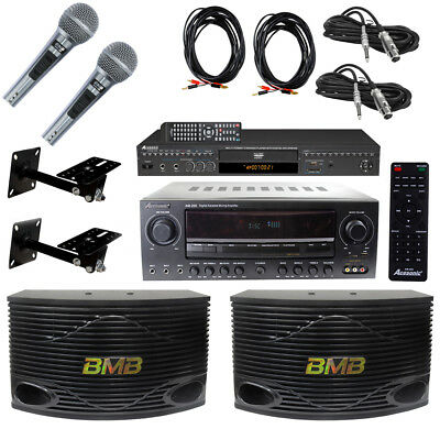 Acesonic DGX-220 Karaoke player with complete sound system