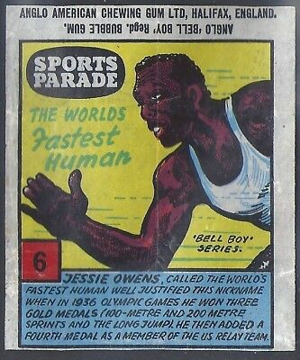 Anglo-Sports Parade-#06- Athletics - Jessie Owens