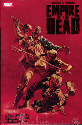George Romero's EMPIRE OF THE DEAD HARDCOVER Collects all 3 arcs Marvel Comic HC