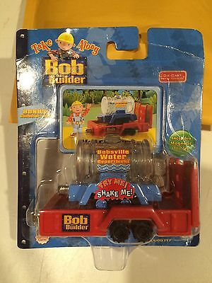 NIP - Diecast Bobsville Water Department Tank for Take Along Bob the Builder
