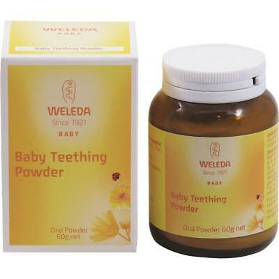 Weleda Baby Teething Oral Powder Babies Children Homeopathic Calm Soothe 60g