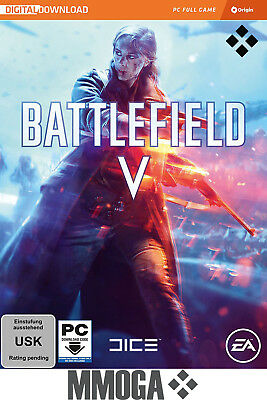 Battlefield V 5 Key BFV - EA ORIGIN PC Spiel Digital Download Code - EU&DE
