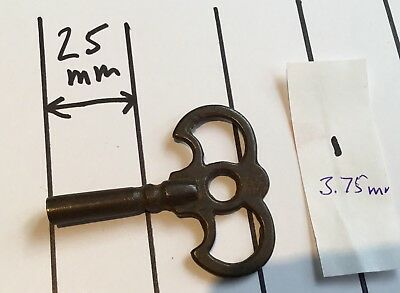 Steel Clock Winding Key 3.75mm square