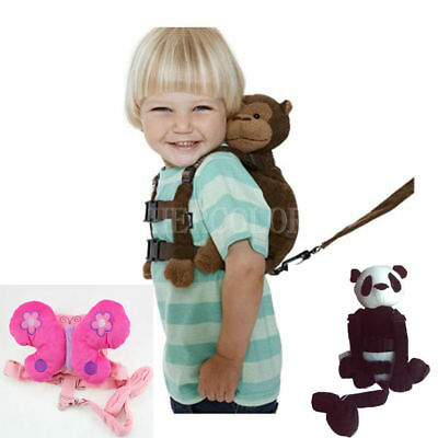 Safety Harness Strap Baby Kid Toddler Walking Backpack Reins Bag  S1