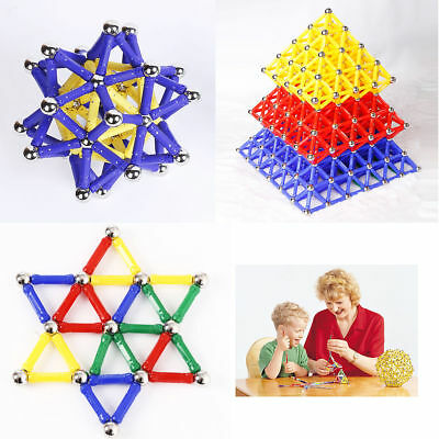 103Pcs Magnetic Sticks Building Blocks Kids Construction Educational Toy Puzzle
