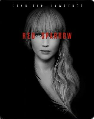 Red Sparrow Limited Edition SteelBook (4K Ultra HD + Blu-ray Disc) BRAND NEW UHD