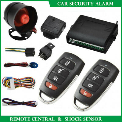 Universal Remote Control Car Central Locking Security System Keyless Entry Kit