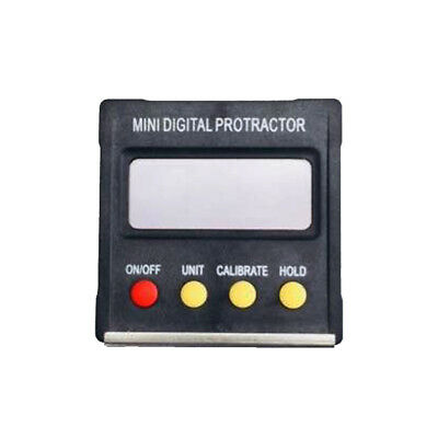 Mini LCD Digital Protractor Angle Finder Level Inclinometer Spirit Level 360