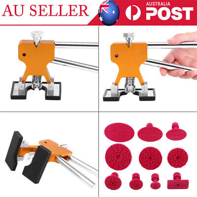 Auto Car Body Dent Remover Repair Puller Kit Tools w/ 10 Tabs Dent Puller