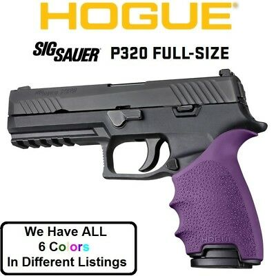 HOGUE HANDALL BEAVERTAIL Grip Sleeve For Sig Sauer P320 Full
