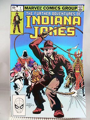 Marvel Comic Indiana Jones #1-----1983