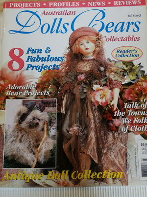 Dolls Bears Collectables Magazine Vol 8 No 3