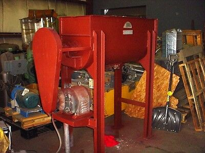 10 cu. ft. RIBBON BLENDER CARBON STEEL J H Day Model C
