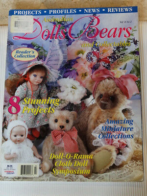 Dolls Bears Collectables Magazine Vol 8 No 2