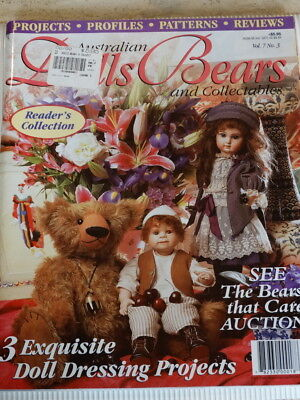 Dolls Bears Collectables Magazine Vol 7 No 3