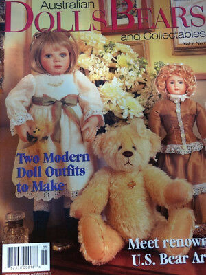 Dolls Bears Collectables Magazine Vol 6 No 6