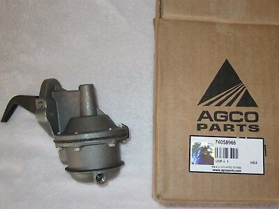 OEM Allis Chalmers Tractor 180 190 Gas Fuel Pump 74058966 NEW OEM AGCO PART