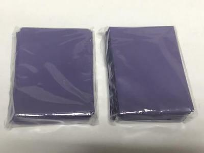 120pcs DECK PROTECTOR Card Sleeves 62mm*89mm purple and Matte