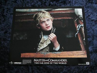 Master and Commander lobby card # 9 - Max Pirkis