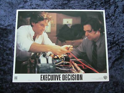 Executive Decision lobby card # 4 - Kurt Russell, Halle Berry