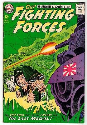DC - OUR FIGHTING FORCES #78 - VG Aug 1963 Vintage Comic