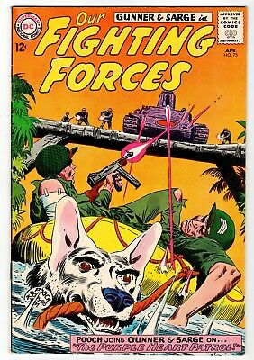 DC - OUR FIGHTING FORCES #75 - VG Apr 1963 Vintage Comic