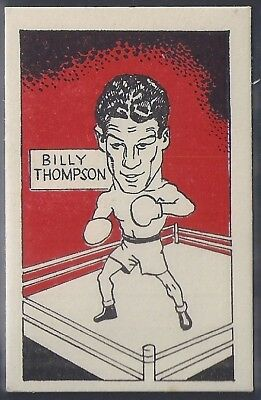 Cummings-Famous Fighters-#24- Billy Thompson