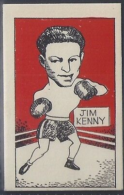 Cummings-Famous Fighters-#34- Jim Kenny