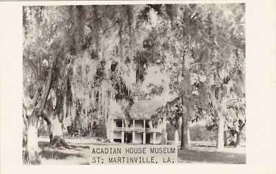 RP; ST. MARTINVILLE , Louisiana , 30-40s; Acadian House Museum