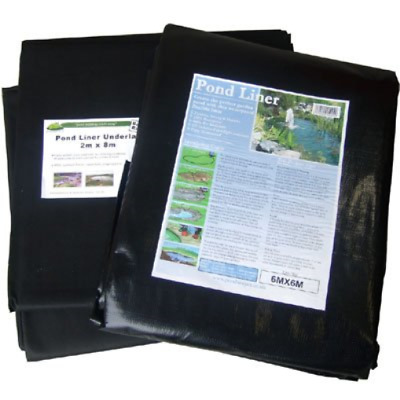 Pond Liner 6X5m with 40yr guarantee and FREE Underlay
