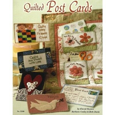 Quilting Pattern Book QUILTED POST CARDS