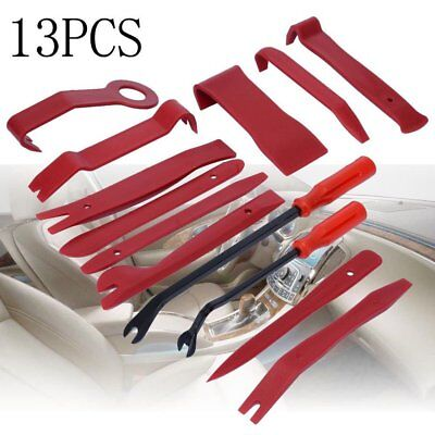 Best 13pcs Car Auto Door Clip Panel Trim Dash Radio Audio Removal Pry Tools Kit