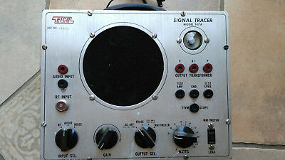 Refurbished & Tested Eico 147A Signal Tracer Extra Nice!! WORKING