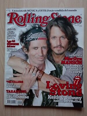 Revista Rolling Stone – ''Keith Richards & Johnny Deep''.with Pink Floyd... 2007