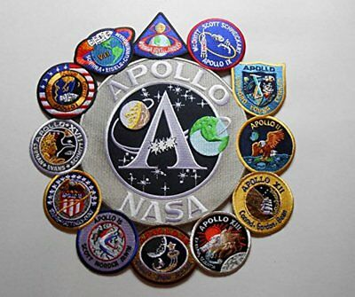 Apollo Mission Patch Collage Apollo 1,7,8,9,10,11,12,13,14,15,16, and 17 Nasa