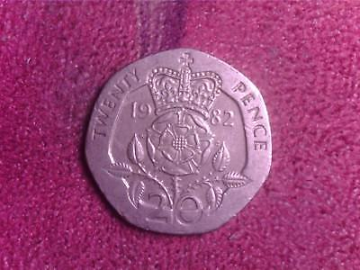 Great Britain   20    Pence  1982    We   Free   Shipping