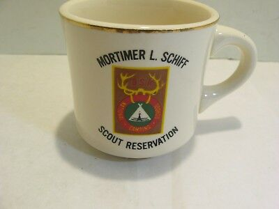Bsa Boy Scouts Coffee Mug Cup Mortimer L Schiff Scout Reservation
