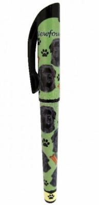 Newfoundland Gel Pen Refillable Black Gel Ink Dog Gift