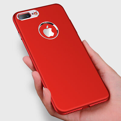 Coque housse bumper  silicone luxueuse supérieure Apple iPhone 6 / 6s rouge