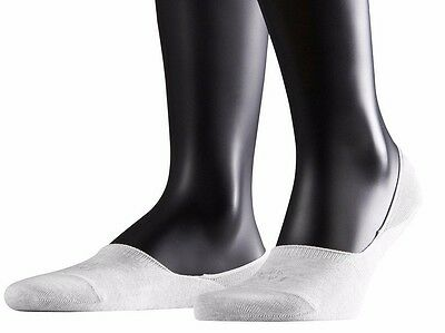 6x Pairs Ladies Womens Black & White Cotton Rich Summer Invisible Trainer Socks