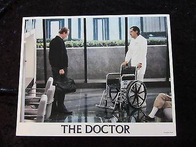 THE DOCTOR lobby card # 6 - WILLIAM HURT
