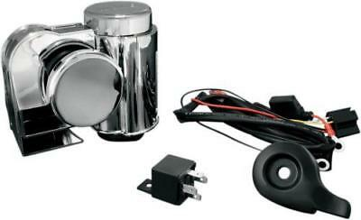 Kuryakyn Wolo Deluxe Horn Kit without Cover #7742 Harley Davidson