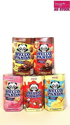 MEIJI Hello Panda Cookies Treats 50g Random Mix