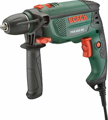 Bosch PSB 650 RE Corded 650W Hammer Drill - Green