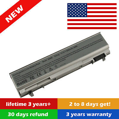 Lot 5200mAh 11.1V Laptop Battery For Dell Latitude E6400 E6410 E6500 E6510 PT434